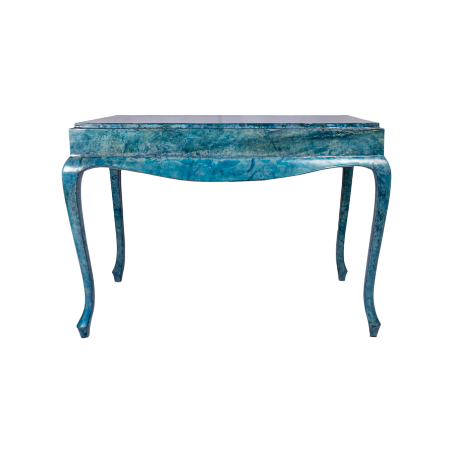 Cerulean Blue Aldo Tura Table