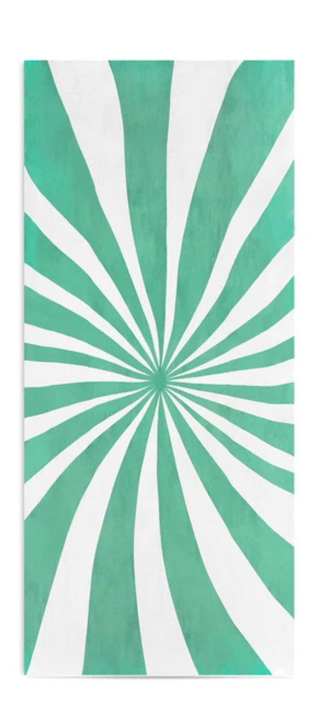 Le Cirque Mint Linen Tablecloth by Summerill & Bishop