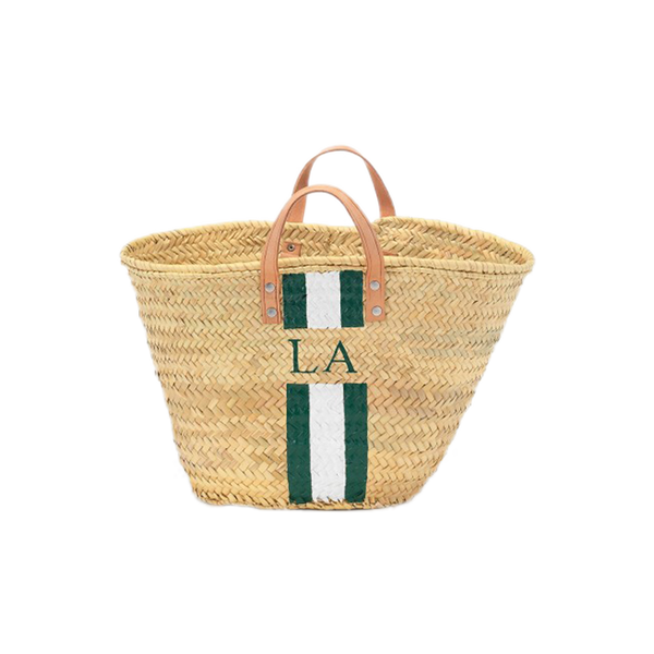 Monogram Short Handle Basket