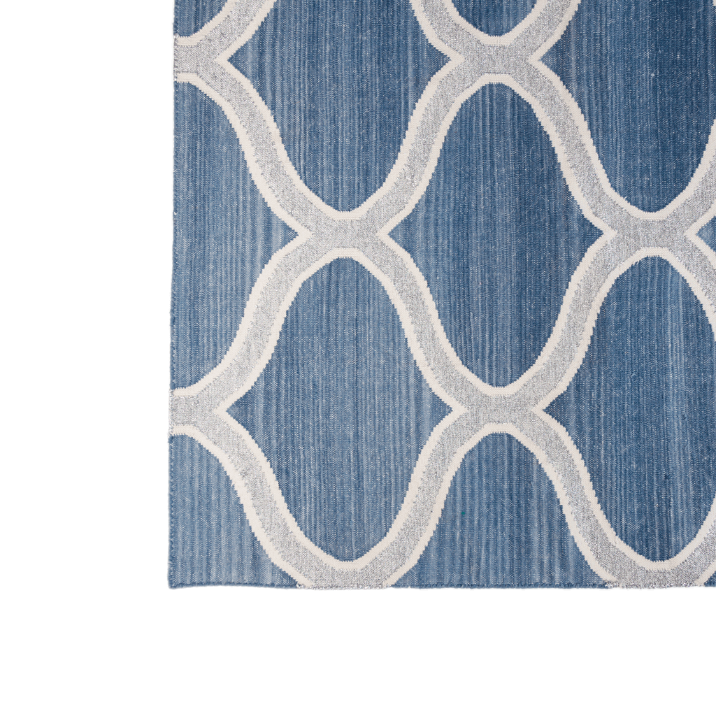Cotton Dhurrie Serpentine Rugs - special order - 6 to 8 weeks for delivery