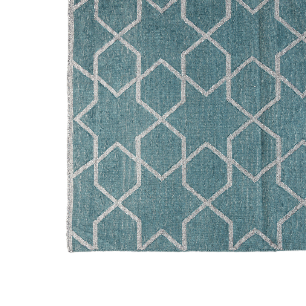 Rug-Cotton Dhurrie-Star