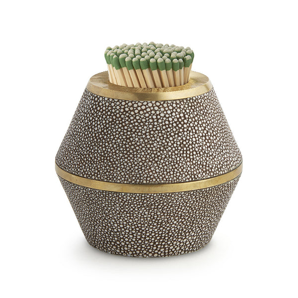 Shagreen Cone Match Striker - Chocolate