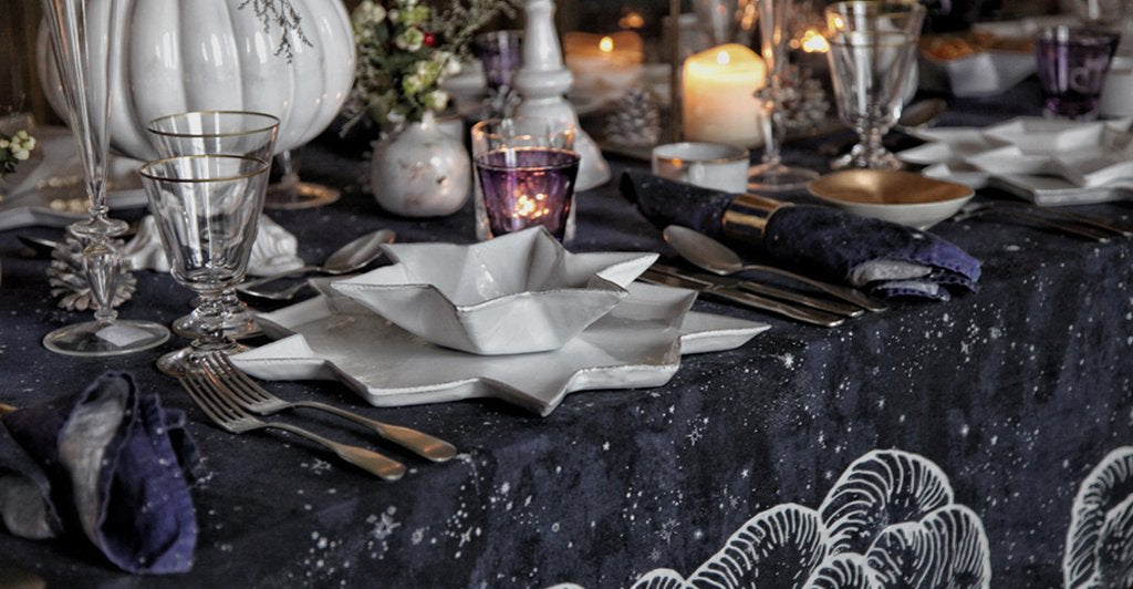 Constellation Linen Tablecloth by Summerill & Bishop