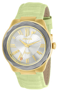 Invicta Women's 22535 Angel Quartz 3 Hand Silver Dial Watch