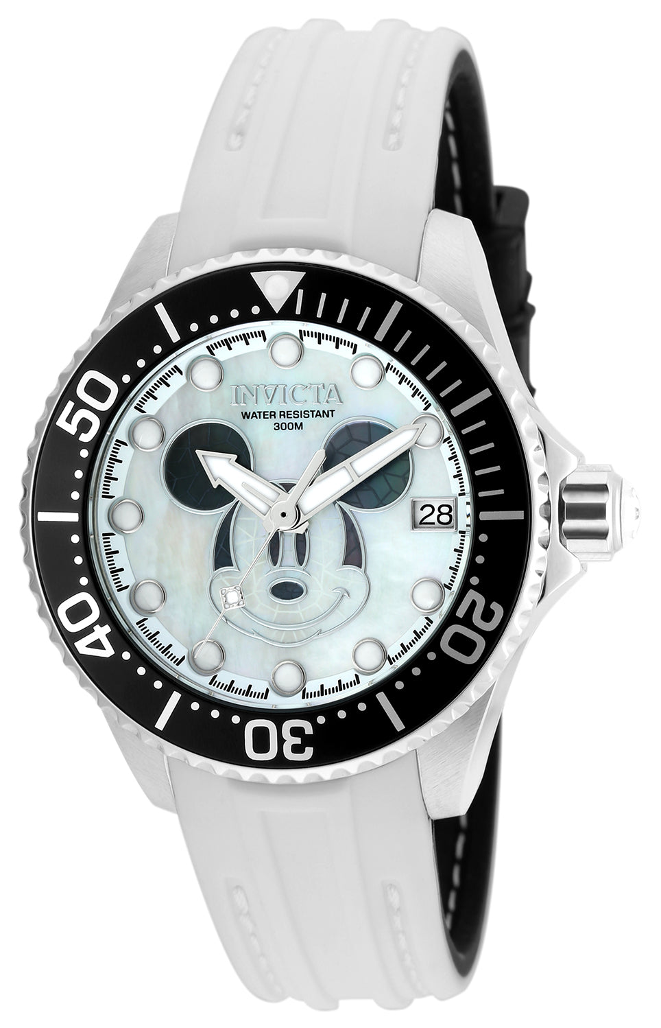 Invicta Women's 22753 Disney Automatic 3 Hand White, Black Dial Watch