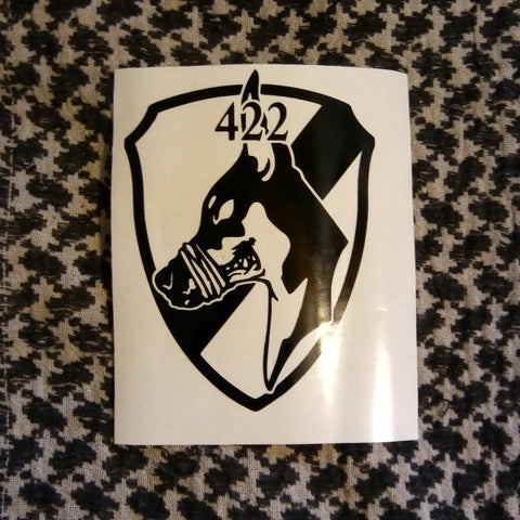 "Squad 422 ""The Nameless"" Decal"