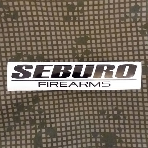 Ghost in the Shell Seburo Firearms Decal