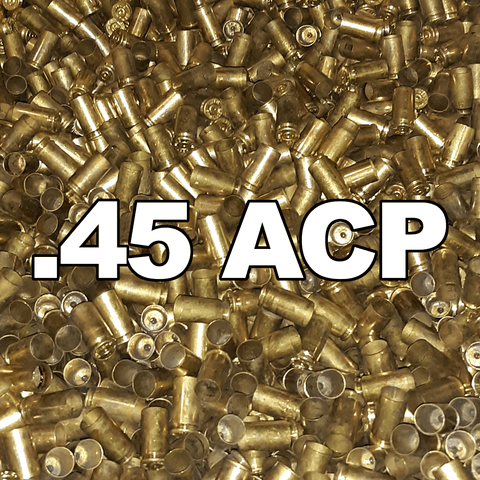 100pk 45ACP Once Fired  Brass