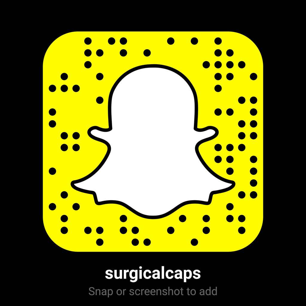 SnapChat add us now LIVE @ surgicalcaps