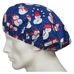Snow People Bouffant Surgical Caps