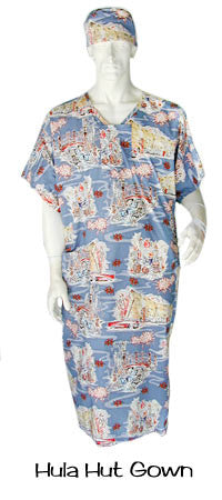Hospital Gown Hula Hut