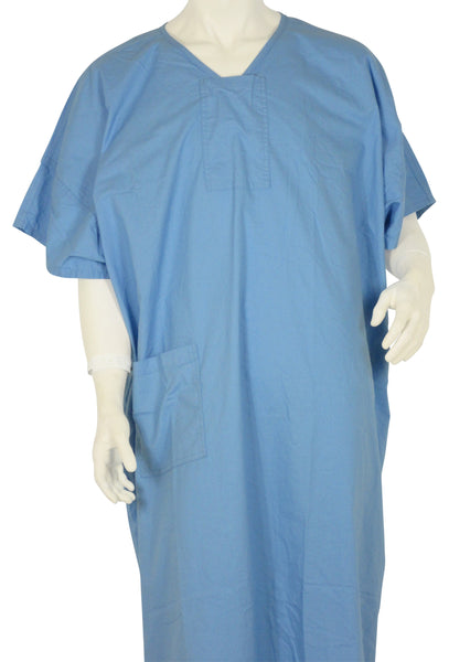 Patient Gowns Candy Blue