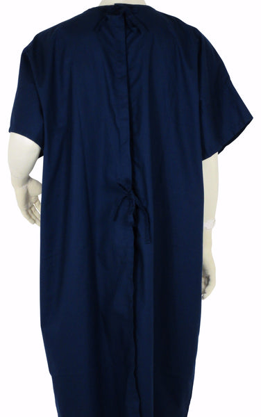 Hospital Gown Deep Navy
