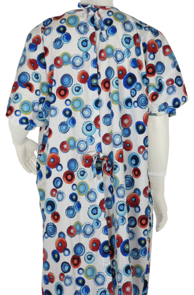 designer Hospital Gown Energy Circles