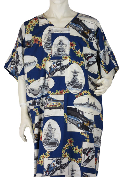 Designer Hospital Gowns Sea and Air