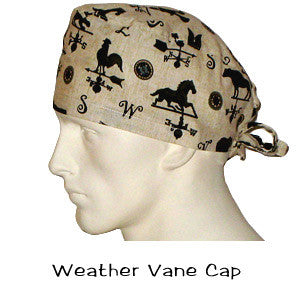 Doctors Scrub Hats Weather Vane