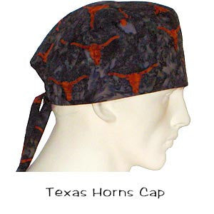 Surgical Caps Texas Horns