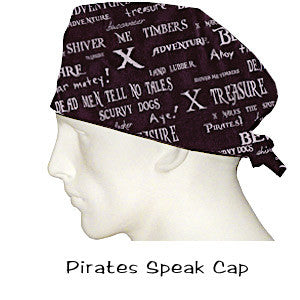 Surgical Medicine Cap Pirates Speak