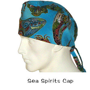 Surgical Caps Sea Spirits