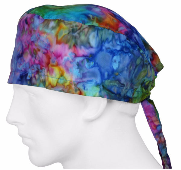 Tie Dye Surgical Caps
