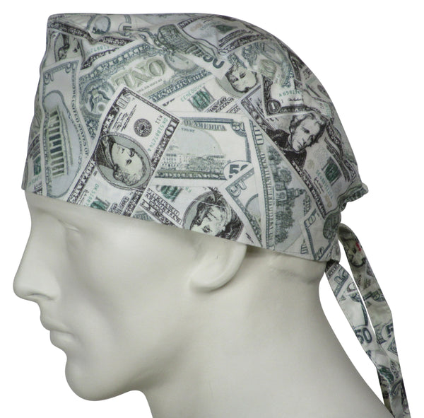 Surgical Scrub Caps Money