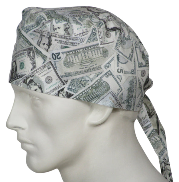 Scrub Caps Money