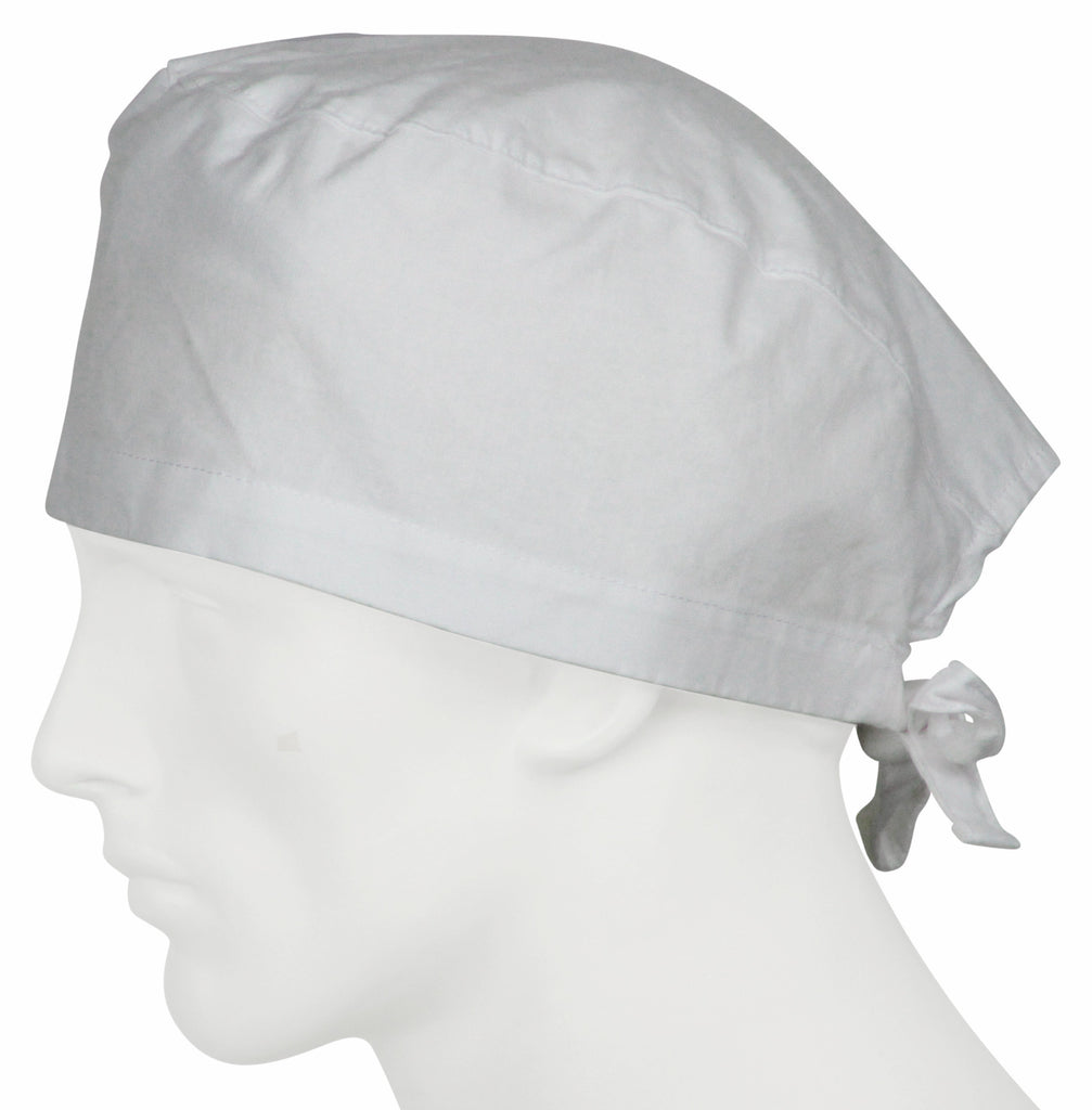 Surgical Caps Pure White
