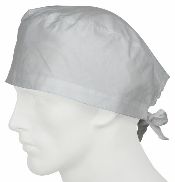 Scrub Caps Pure White