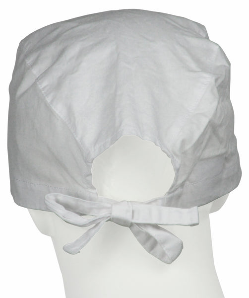 Surgical Hats Pure White