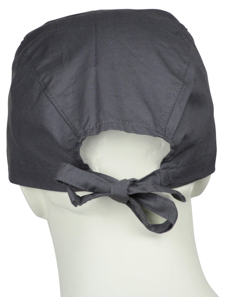 Surgical Cap Coal Grey