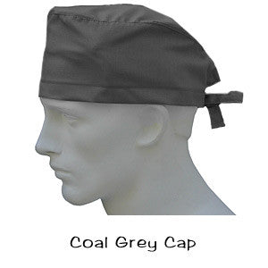 Surgical Caps Coal Grey