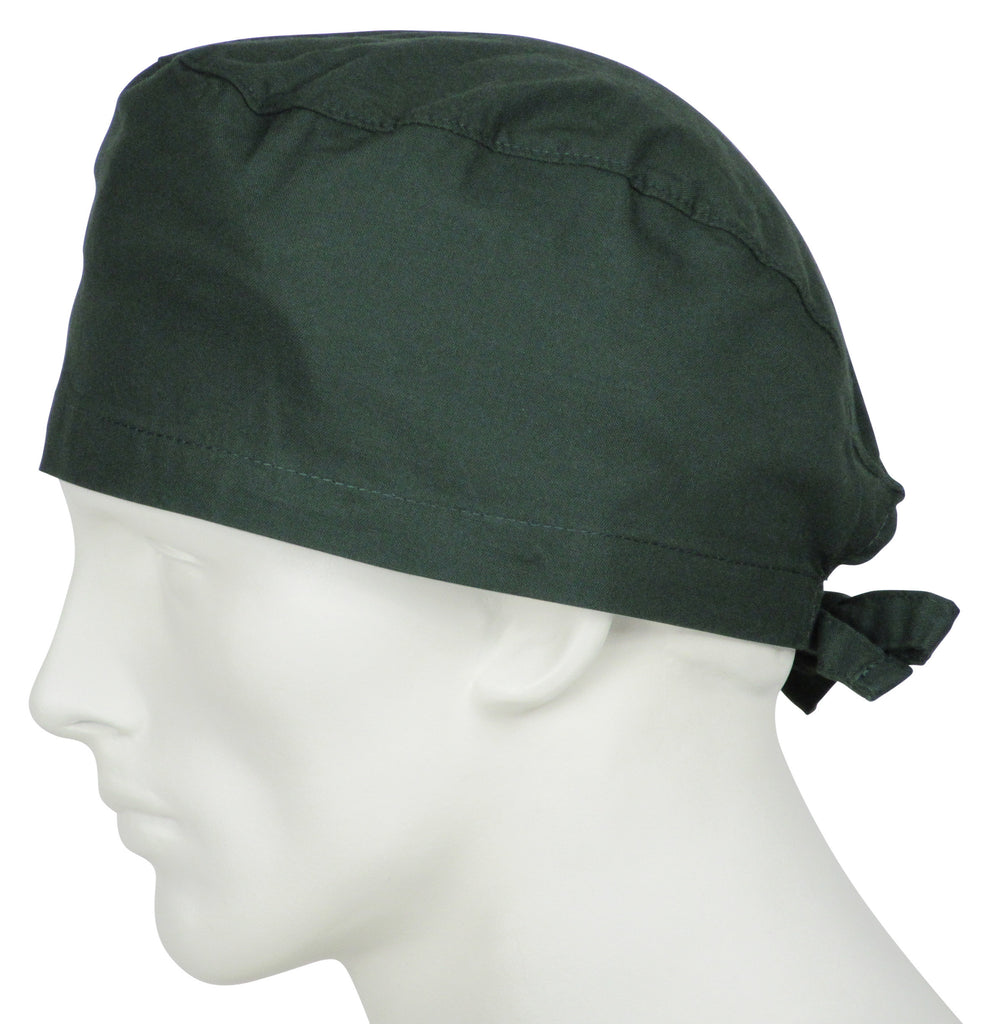 Scrub Cap Hunter Green