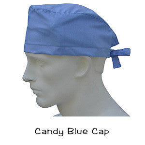 Surgical Caps Candy Blue