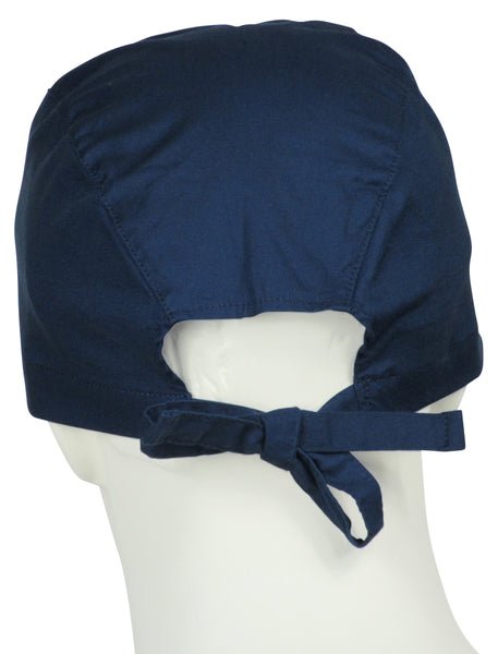 Scrub Caps Deep Navy