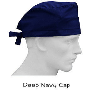Surgical Scrub Caps Deep Navy