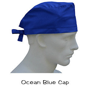 Scrub Hats Ocean Blue