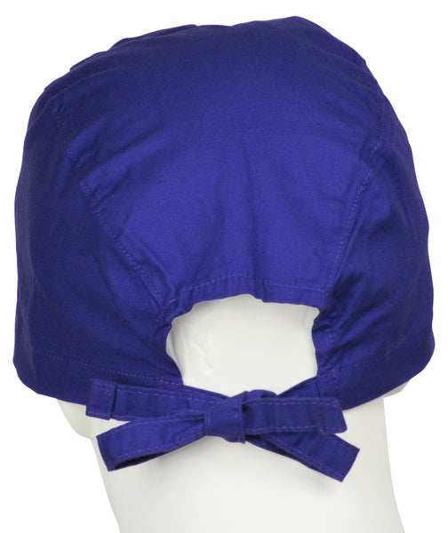Scrub Caps Barney Purple