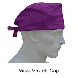 Surgical Caps Miss Violet