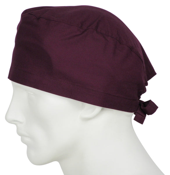 Scrub Caps Wine Burgundy