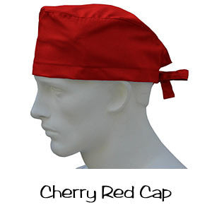 Scrub Cap Cherry Red