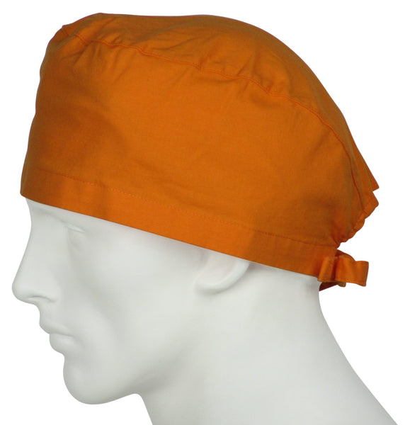Scrub Surgical Caps Sunrise Orange