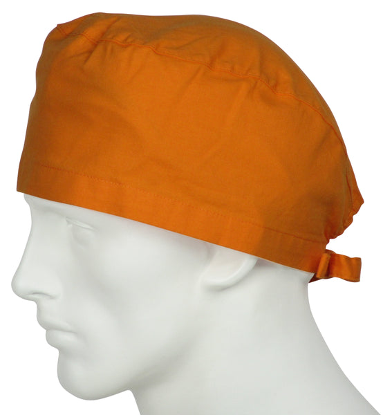 Scrub Surgical Cap Sunrise Orange
