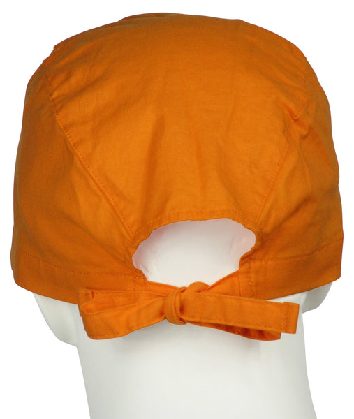 Scrub Cap Sunrise Orange