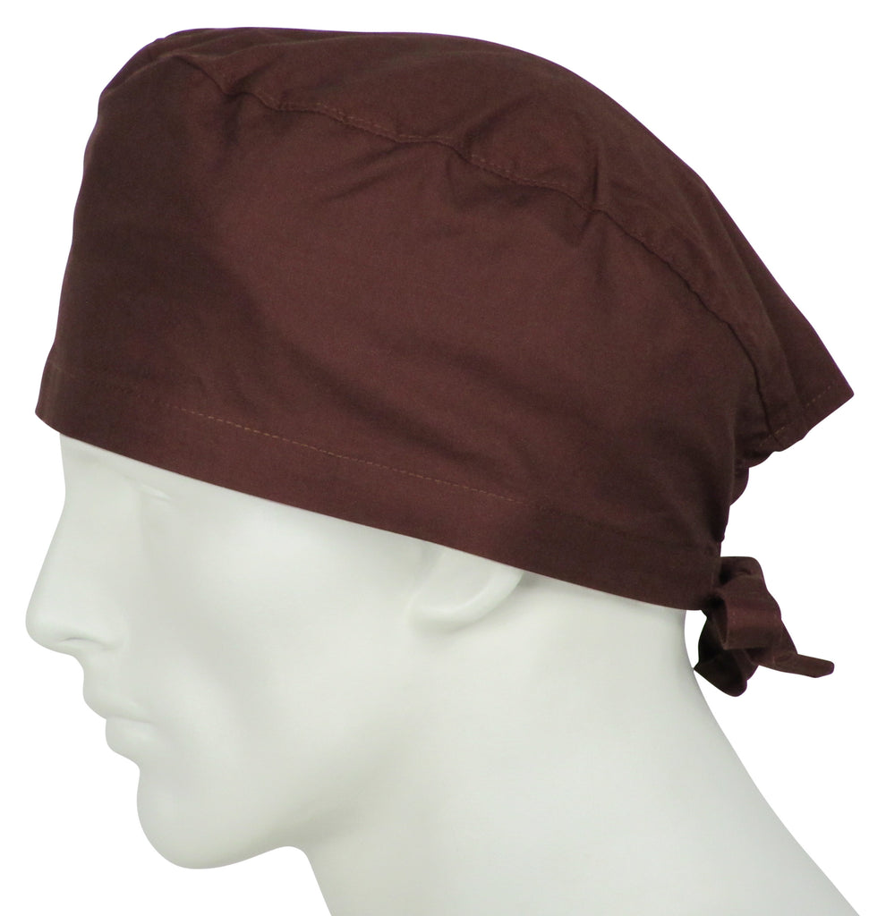 Scrub Cap Chocolate Brown