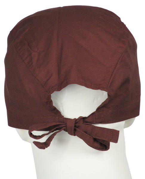 Surgical Cap Chocolate Brown