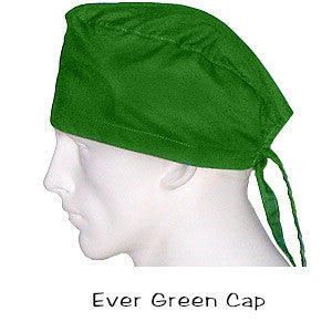 Scrub Surgical Cap Ever Green