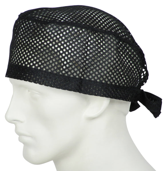 Scrub Caps Big Hole Black