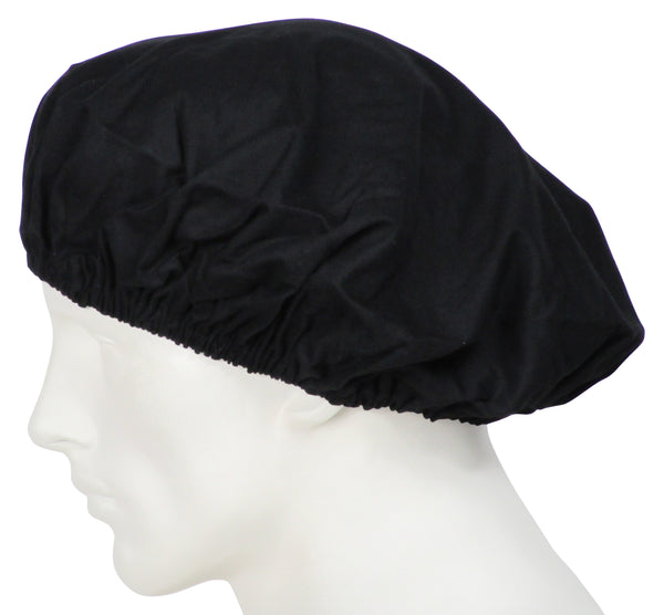 Bouffant Scrub Hats Midnight Black