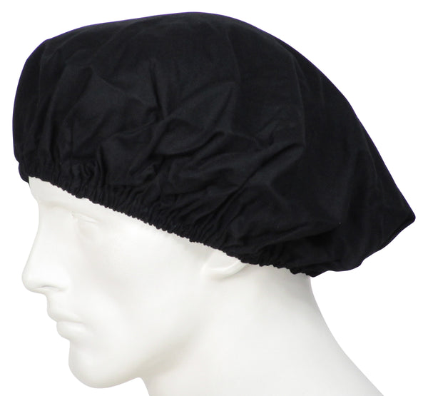 Bouffant Surgical Caps Midnight Black