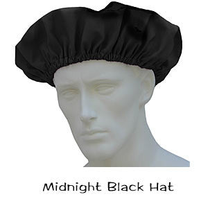 Bouffant Scrub Caps Midnight Black